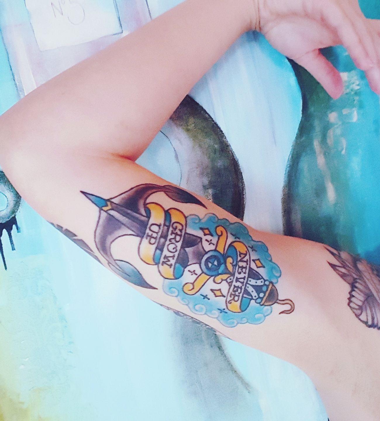 Friendly reminder. Tattoo Tattooed Tattoo Design Tattoolife Tattoodesign Tattoomodel Tattoomodels Peterpan Peterpantattoo Disneytattoos Inked Upclose  Intheskin