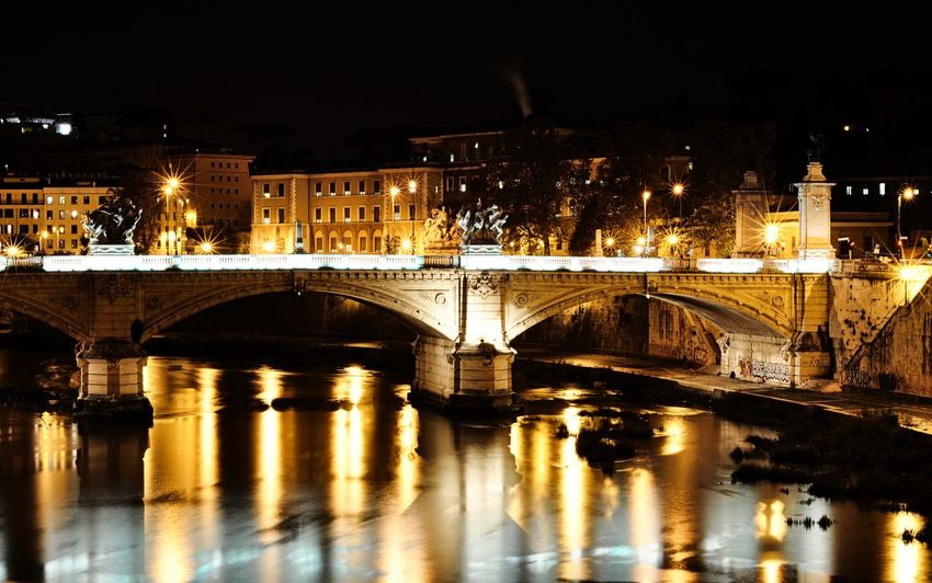 Rome of gold Rome Italy Gold Golden Roma Romantic Viewpoint Beautiful City Cityscapes Architecture_collection Colorful City Reflection Water Likeforlike Likeforlike #likemyphoto #qlikemyphotos #like4like #likemypic #likeback #ilikeback #10likes #50likes #100likes #20likes #likere Night Photography Night View Bridge Amazing City Loveit Night Lights Water Lights Lights