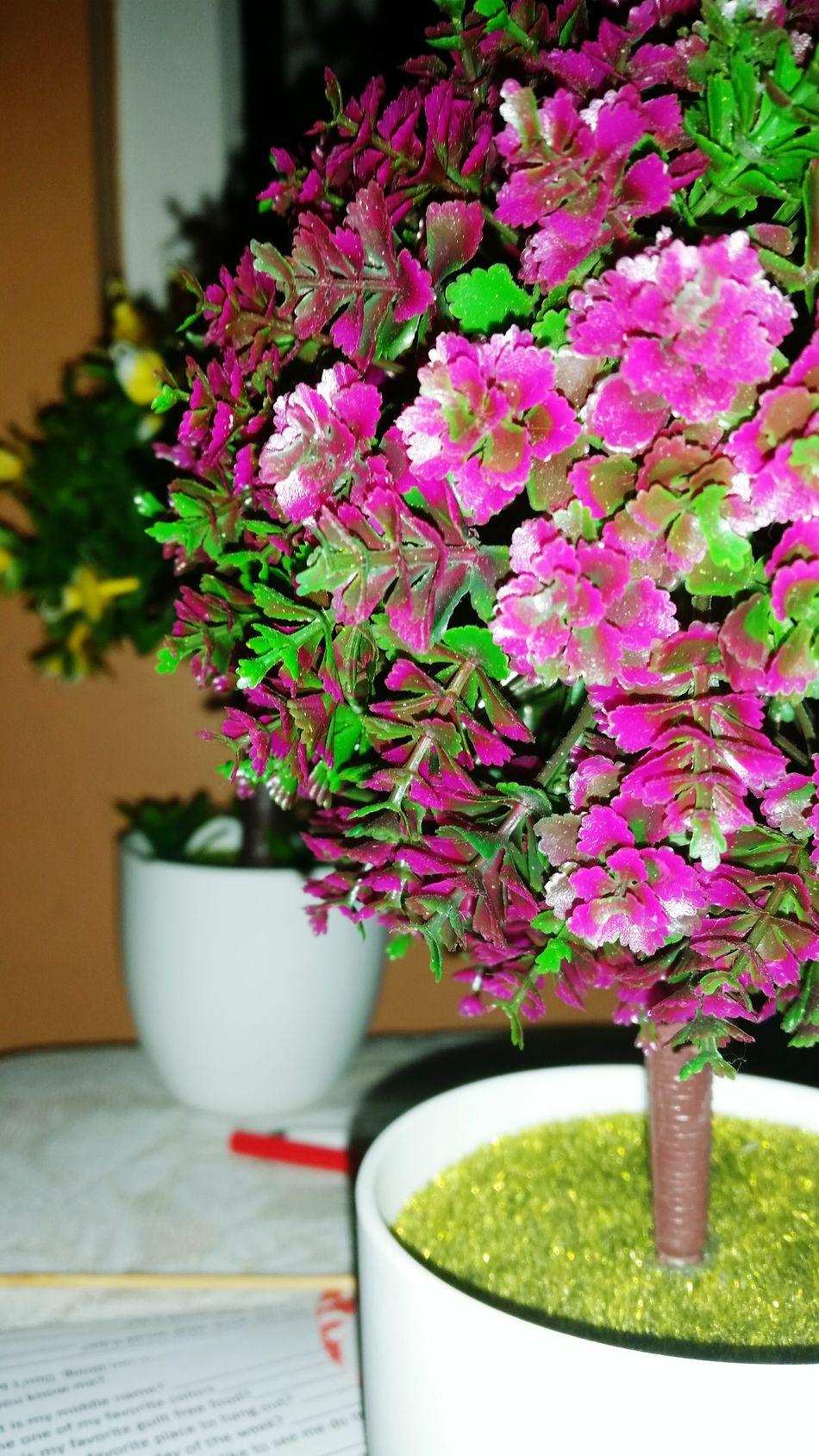 Centerpiece Purple Tiny Flowers Artificial Flowers Artificial Plants