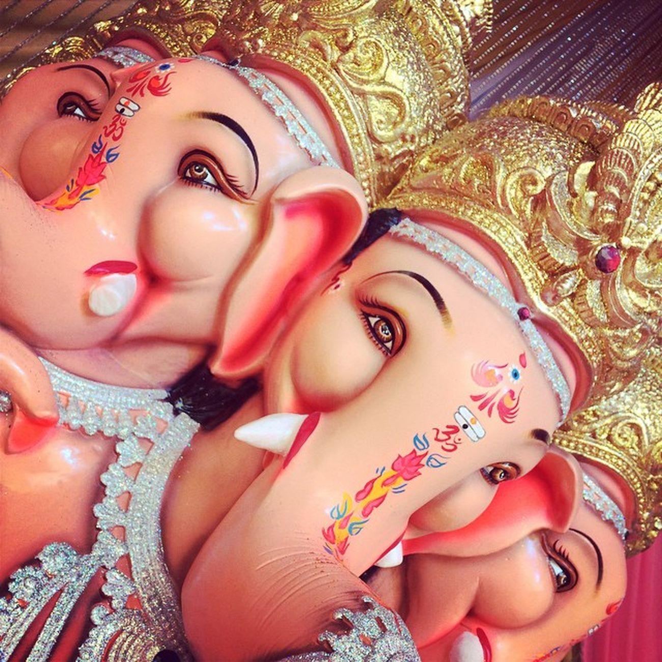 Iphonegraphy Bappa GanpatiBappa Moryaaa