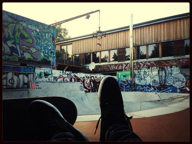 Hanging Out at DIY bowl Skateboarding From My Point Of View Skate Enjoying Life Taking Photos Check This Out Hello World