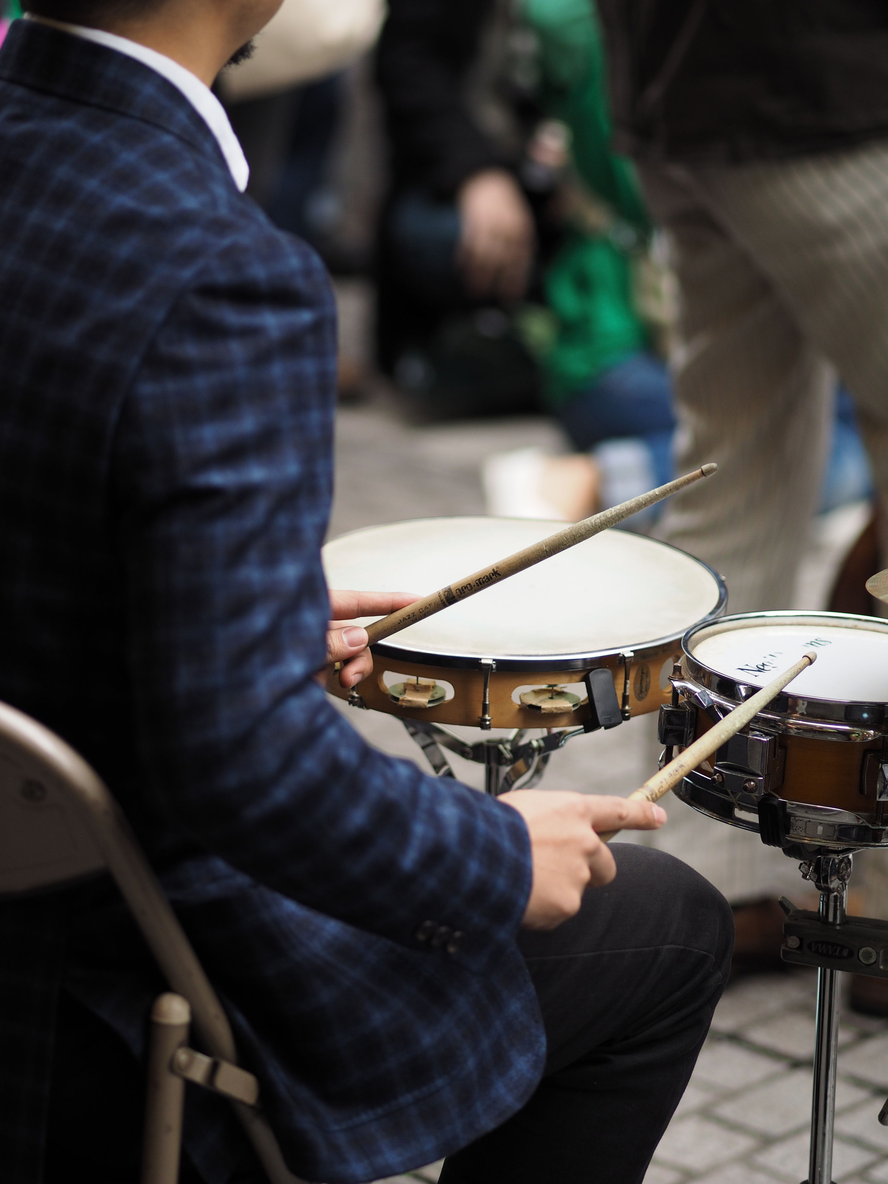 men, music, occupation, working, indoors, musical instrument, holding, lifestyles, technology, focus on foreground, leisure activity, part of, arts culture and entertainment, selective focus, person, musical equipment, close-up, equipment