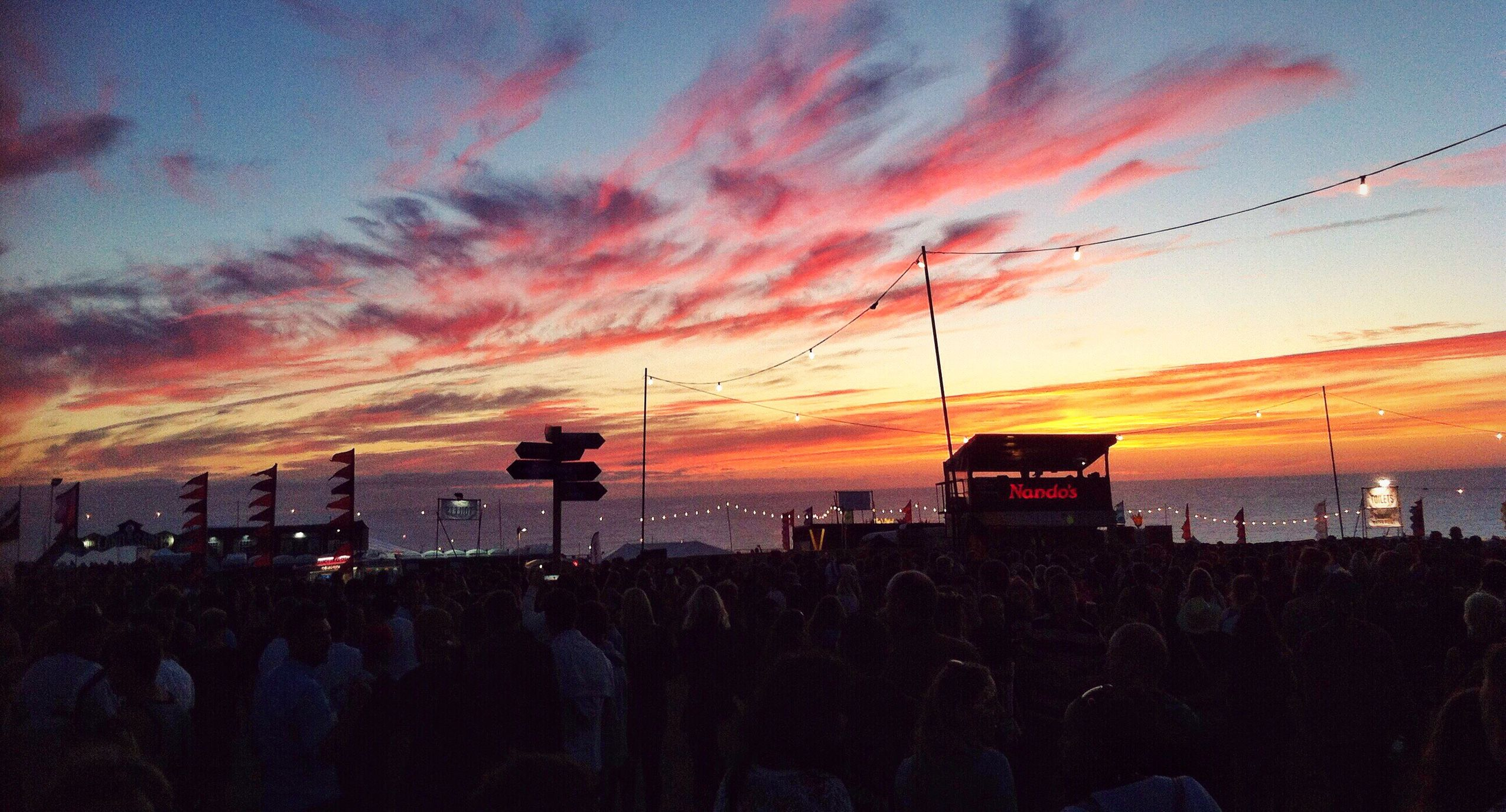 The Boardmasters Sunset 2016 Bestoftheday Sunset Musicfestival Surf Cornwall Boardmasters Taking Photos Beauty In Nature Skyporn