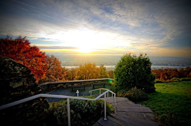 Atmospheric Mood Bonn Dramatic Sky Outdoors Panorama Petersberg Rhein Rheintal  Siebengebirge Sunset