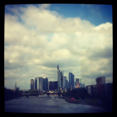 on the road at Frankfurt am Main, Germany by Patti