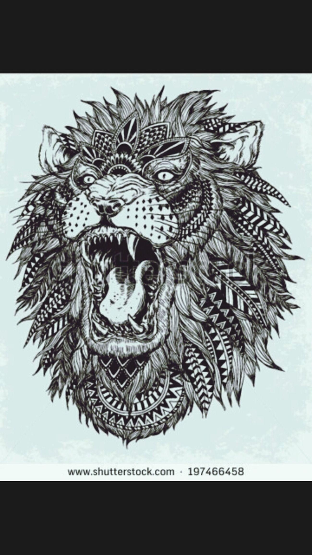 Lion BLCK&WHT