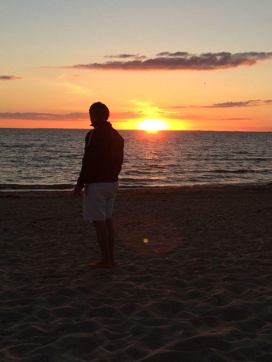 Sea Sunset Horizon Over Water Landscape Getting Inspired Taking Photos Enjoying Life Relaxing Quimiac