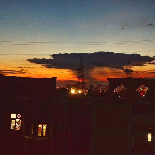 Vscocam 262 Evening Dawn Playingclouds Invasion Rainfallsfeatures Lookslike alien 👽 ship ufo. Razmadeit Gurgaondiaries the Unexplored