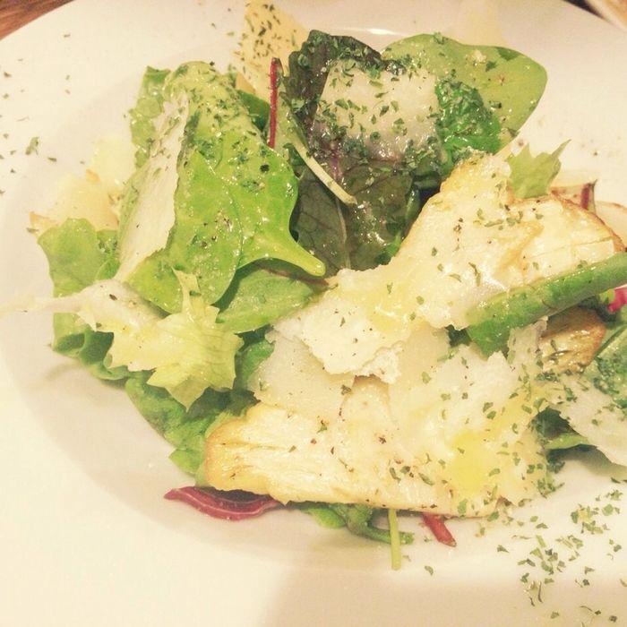 筍とパルメザンチーズのサラダが美味しすぎる Tasty Dishes Salad