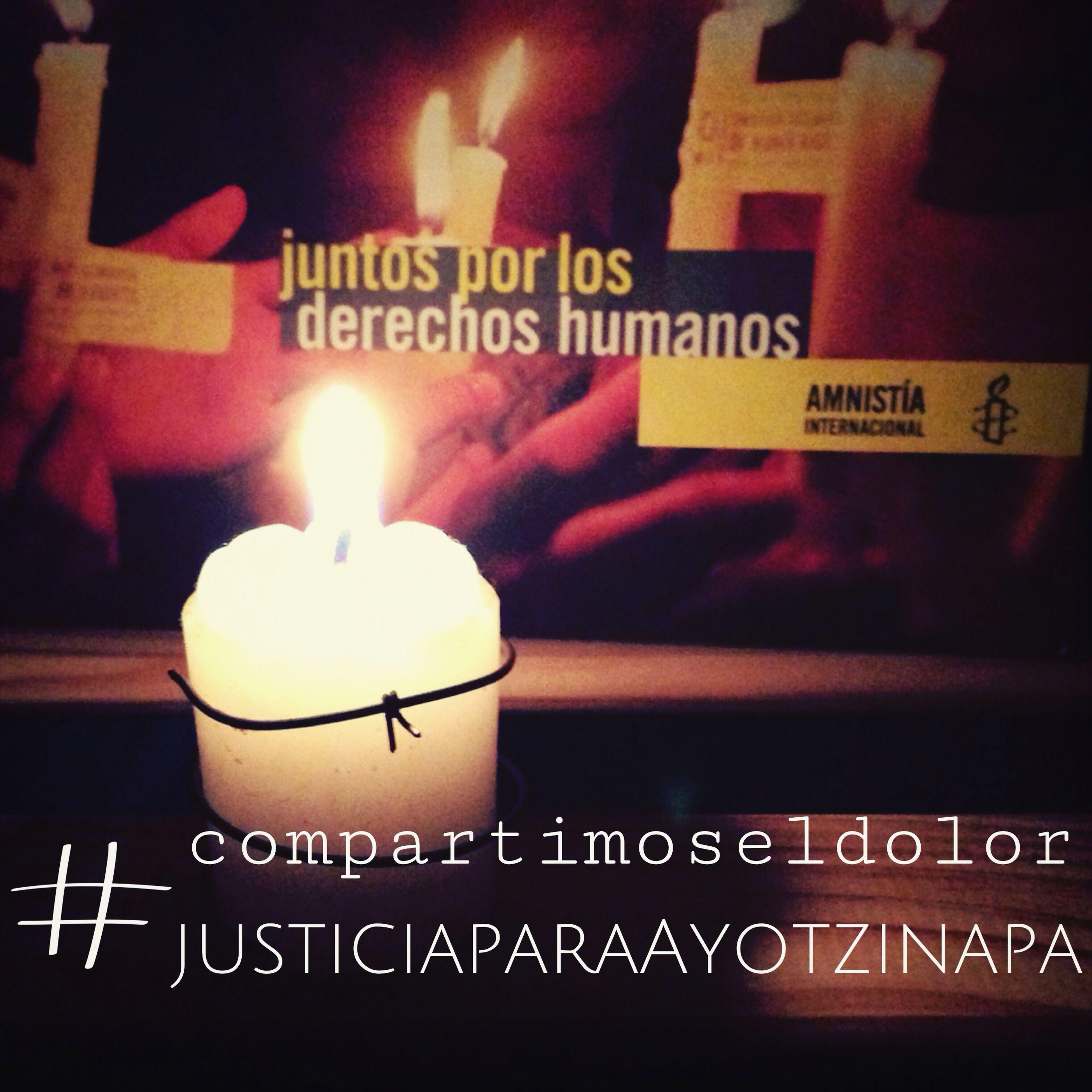 Justicia para Ayotzinapa, Guerrero, México. 43 estudiantes desaparecidos. /Justice for Ayotzinapa, Guerrero, Mexico. 43 students are disappeared #CompartimosElDolor HastaEncontrarles Justice AIGDL Human Rights