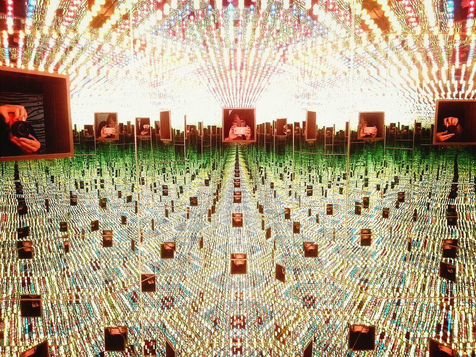 예술의 전당 Kusama Yayoi A Dream I Dream Art Exhibition Seoul, Korea
