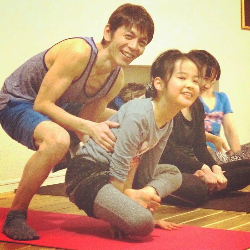 スーパーヨギーニ!87ちゃん☆ アジャストメントは笑顔で Ashtangayoga Yoga Space Siddhi Primary Led Class Yoga アシュタンガヨガ スキルアップ講座 Hono Hono 広島