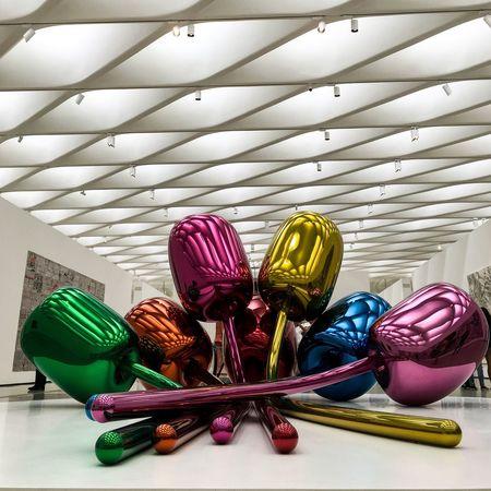 The Broad Losangeles Jeff Koons