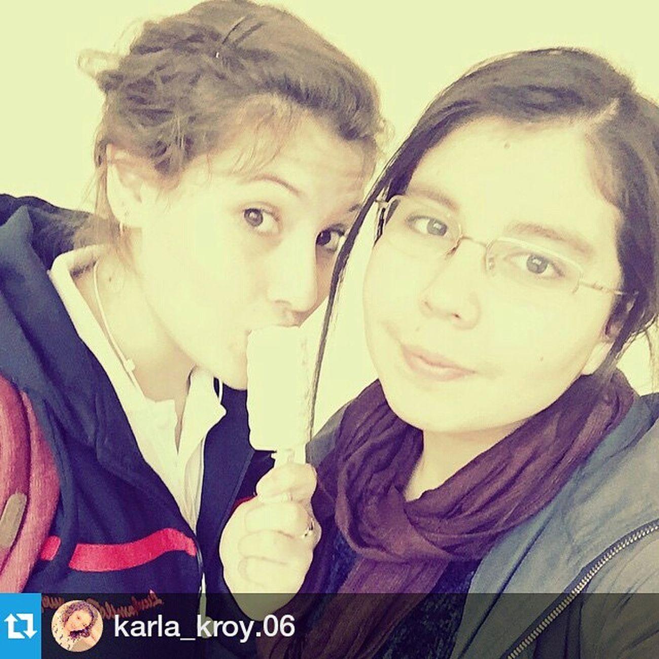 Repost @karla_kroy.06 ・・・ Awww 😋 Heladito Primi te quieruuu 😘 Chileangirl chilegram temuco chile girls