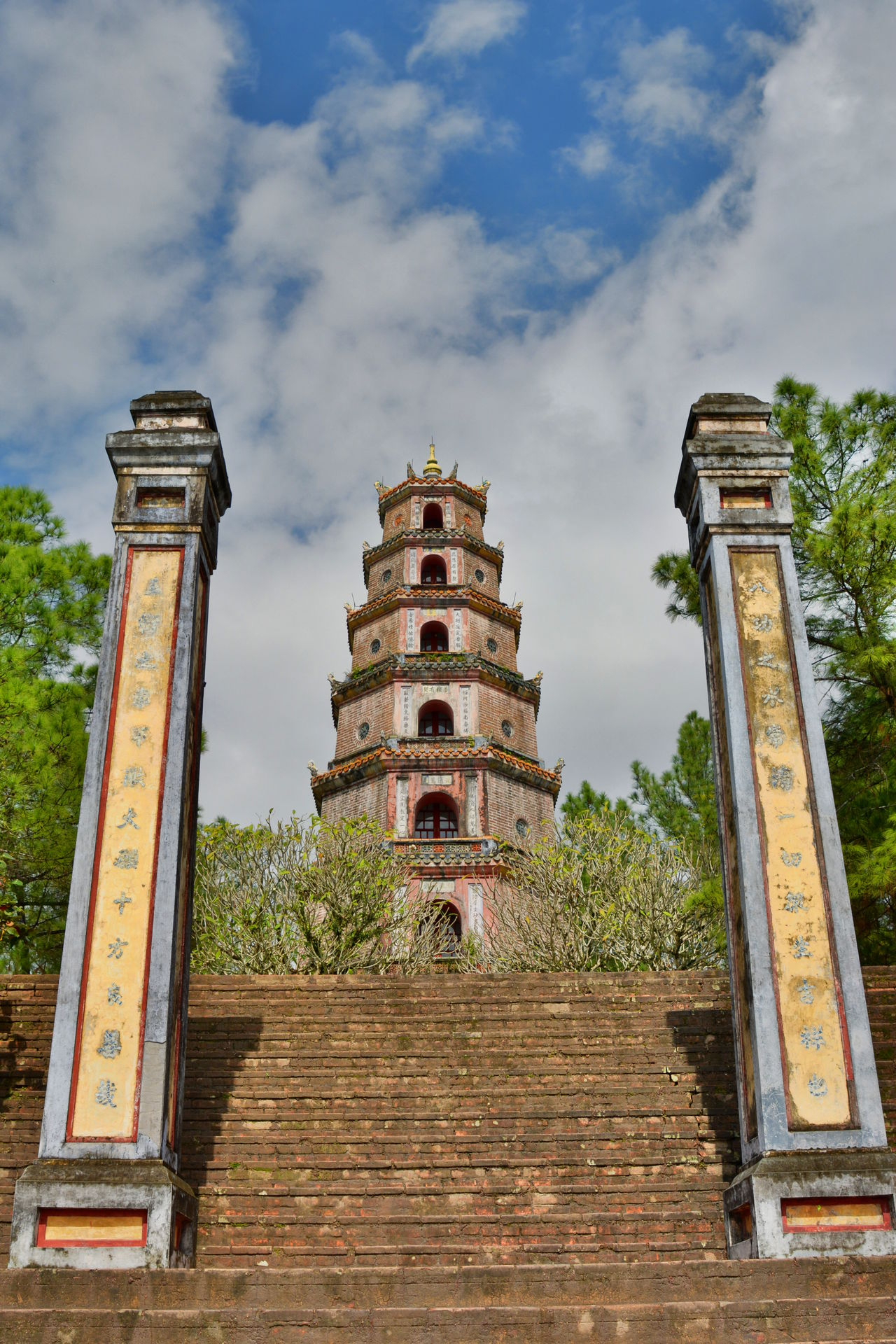 Thien Mu pagoda Architecture ASIA Asian  Asian Culture Buddhism Buddhist Temple Building Exterior Famous Place Historic Hue Vietnam Huế International Landmark Pagoda Place Of Worship Religion Temple Thien Mu Tower Travel Travel Photography Travelphotography Vietnam Vietnamese