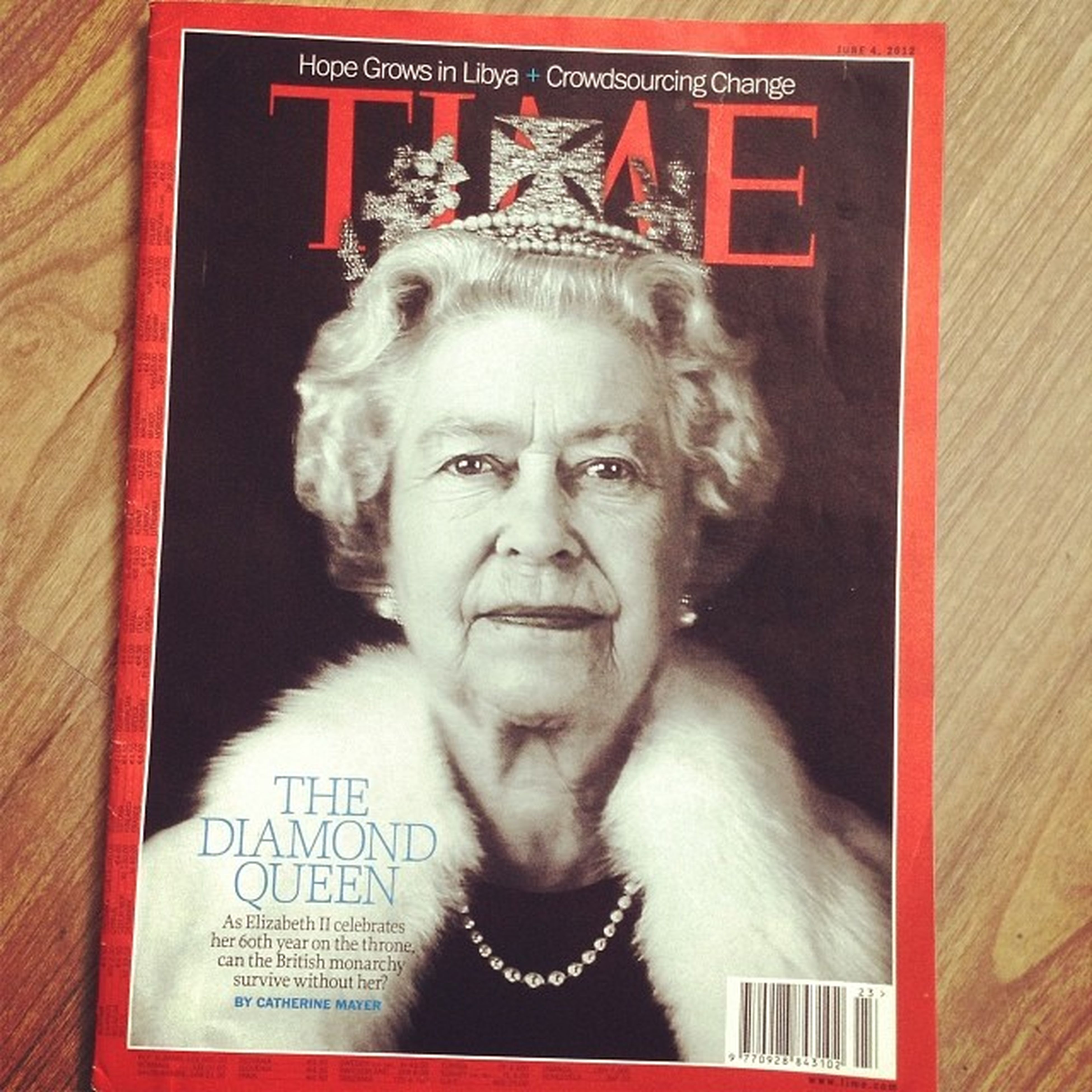 Time Timescover Queen ElizabethII Collect