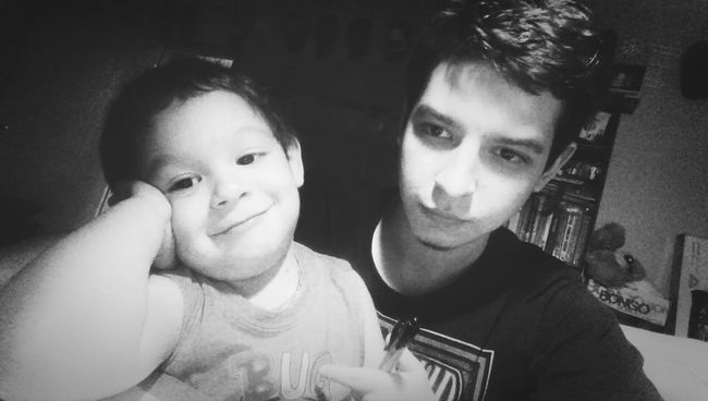 My little Nephew and I. Mcallen Taking Photos That's Me