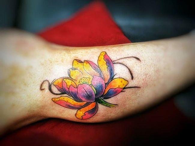 Tattoo Ink Lotus Art Artist