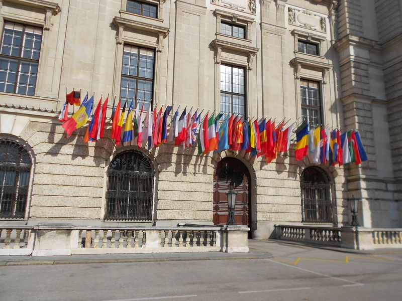 Can you find your flag? Architecture Building Building Exterior City City Life Culture Day Exterior Façade Famous Place Flag Flags In The Wind  Historic Hofburg Hofburgpalace Outdoors Vienna Vienna_city