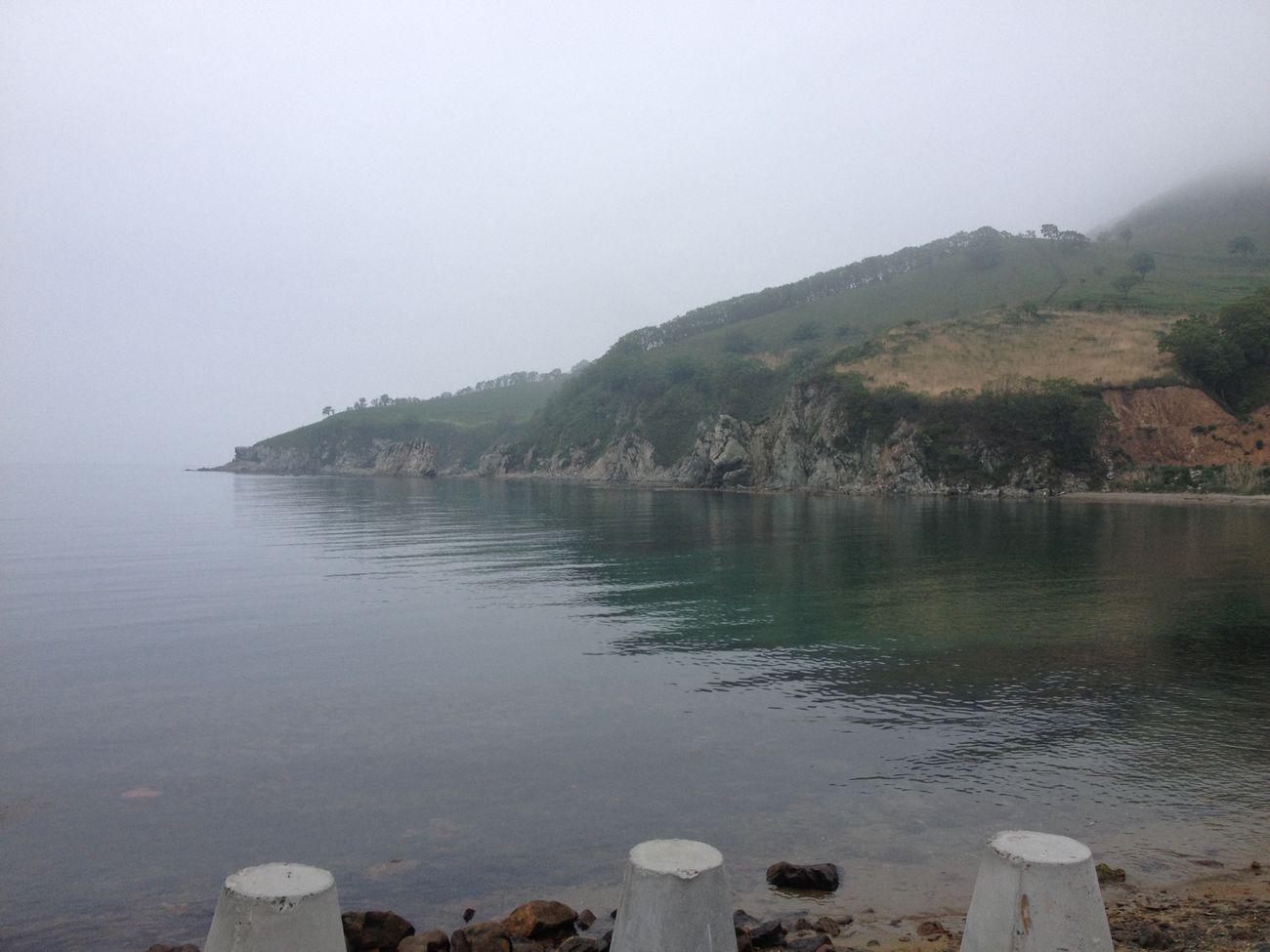 Sea Nakhodka Fog Море туман