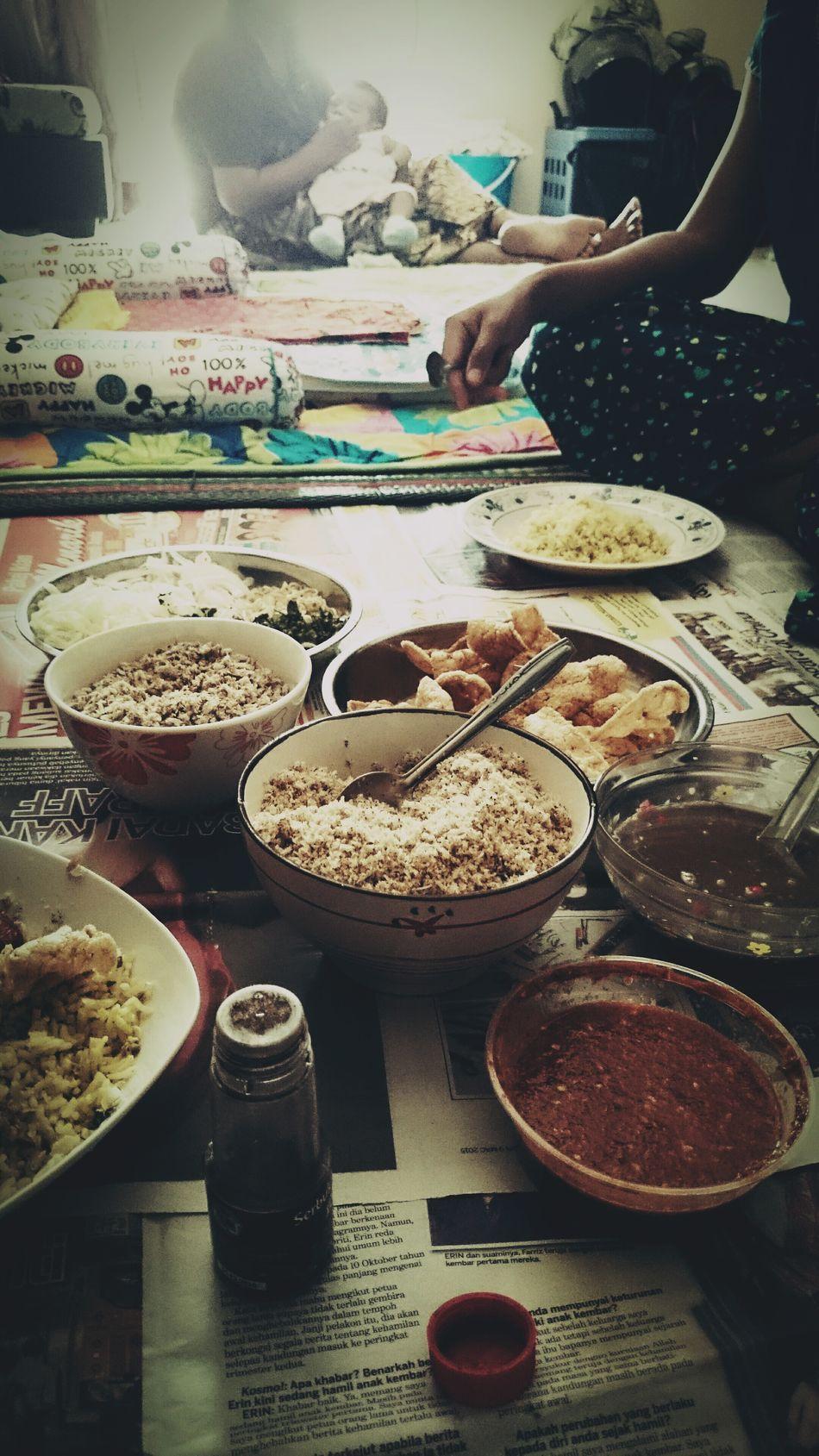 Food Photography Food Porn Eating First Eyeem Photo Kelantanfood khaw yam.. Nasi kerabu kelantan.