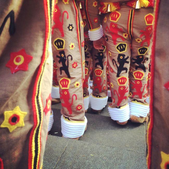 Folklore Costume Nivelles Gilles Binche