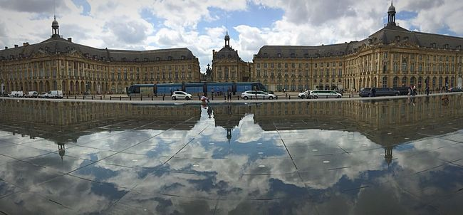 Bordeaux, France Mirror D'eau France Reflected Glory Reflection Architecture Water Reflections Gironde