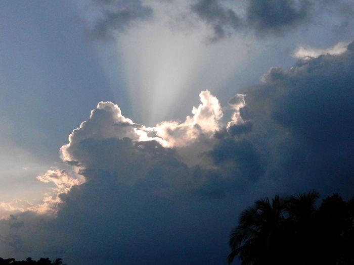 Sky... Cloud Sun Light Awesome Earth