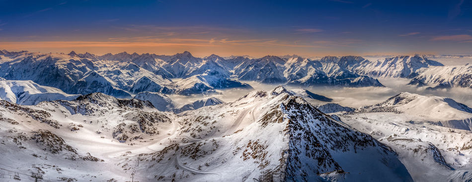 Beautiful stock photos of wetter, Beauty In Nature, Cold Temperature, France, Huez