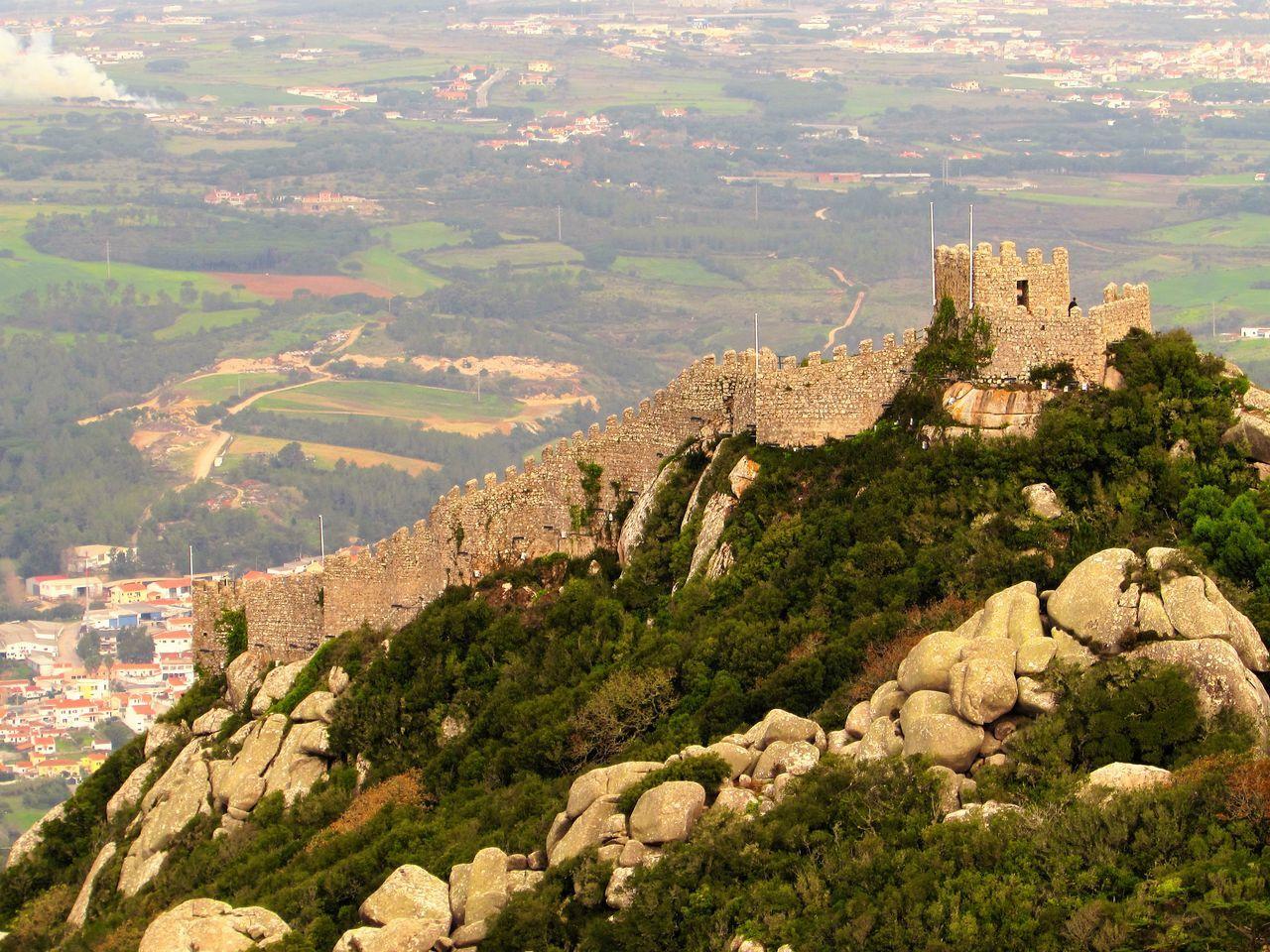 Beautiful stock photos of portugal, Architecture, Building Exterior, Built Structure, Castle