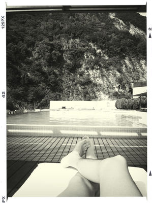 swimming pool at Silks Place Taroko by Neil