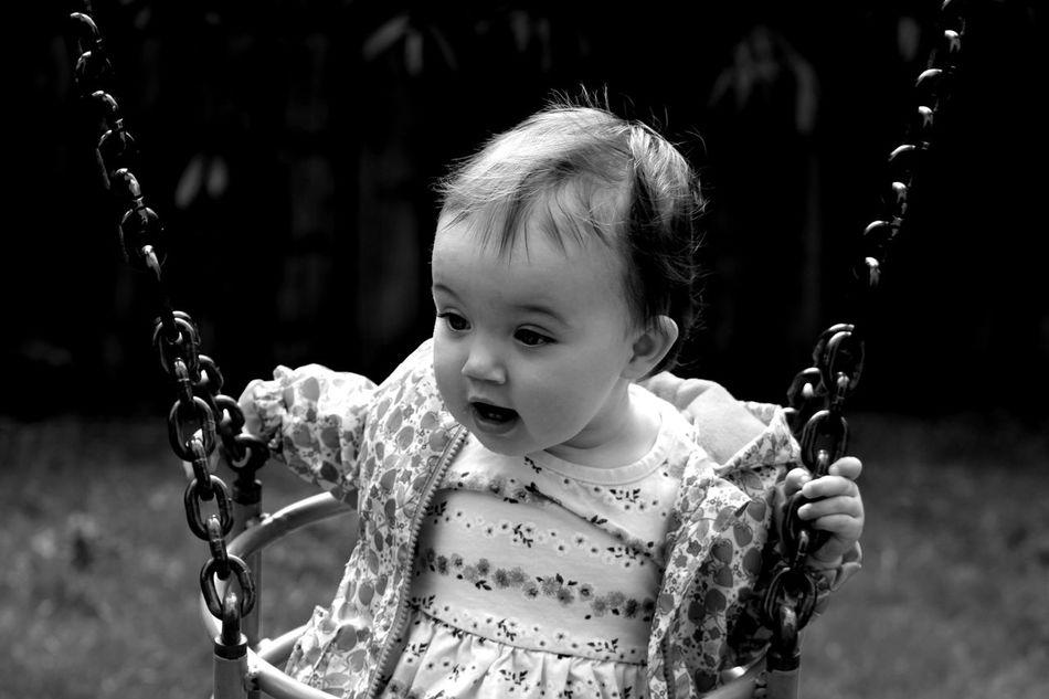 Beautiful stock photos of niedlich, 6-11 Months, Baby Girls, Caucasian Ethnicity, Chain