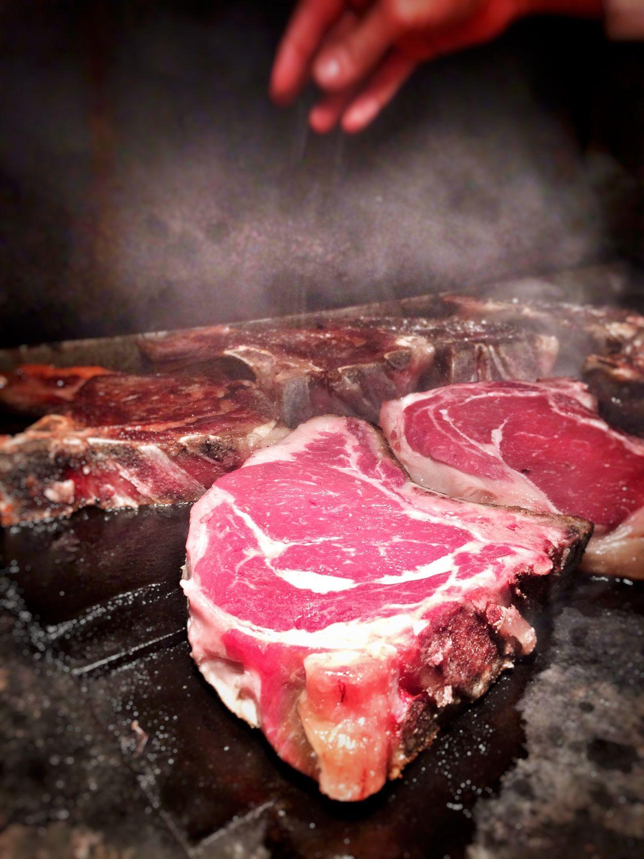 Food Foodporn Meat Tbonesteak Steaks BBQ Italian Food Italian Grill