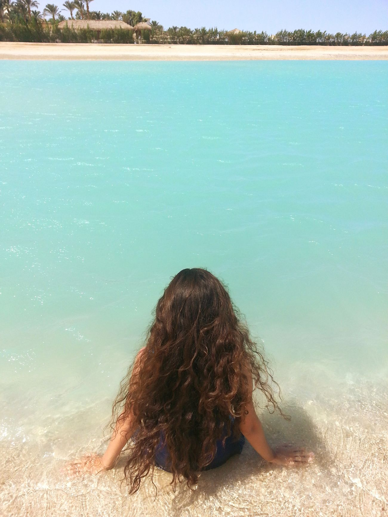 The Great Outdoors - 2017 EyeEm Awards Redsea, Egypt , Sinai , Taba Blue Color Long Hair Lonely Calm Sea