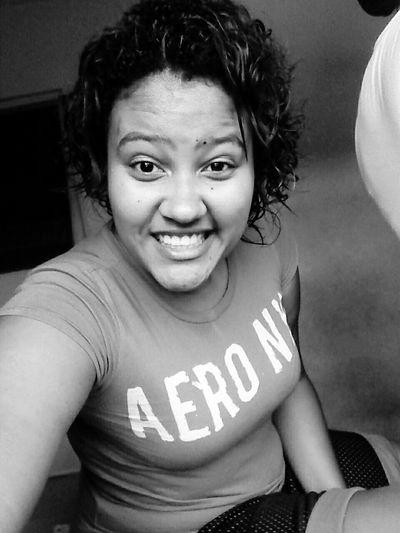 Behappy:) Black & White Negra 😀😊