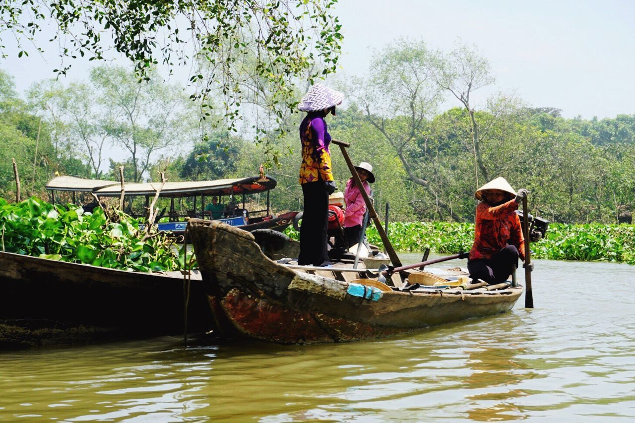 The Mekong Delta, Vietnam Transportation Nautical Vessel Gondola - Traditional Boat Visitvietnam Mekong Delta Mekong River Travel Destinations Vietnam Sony A6000