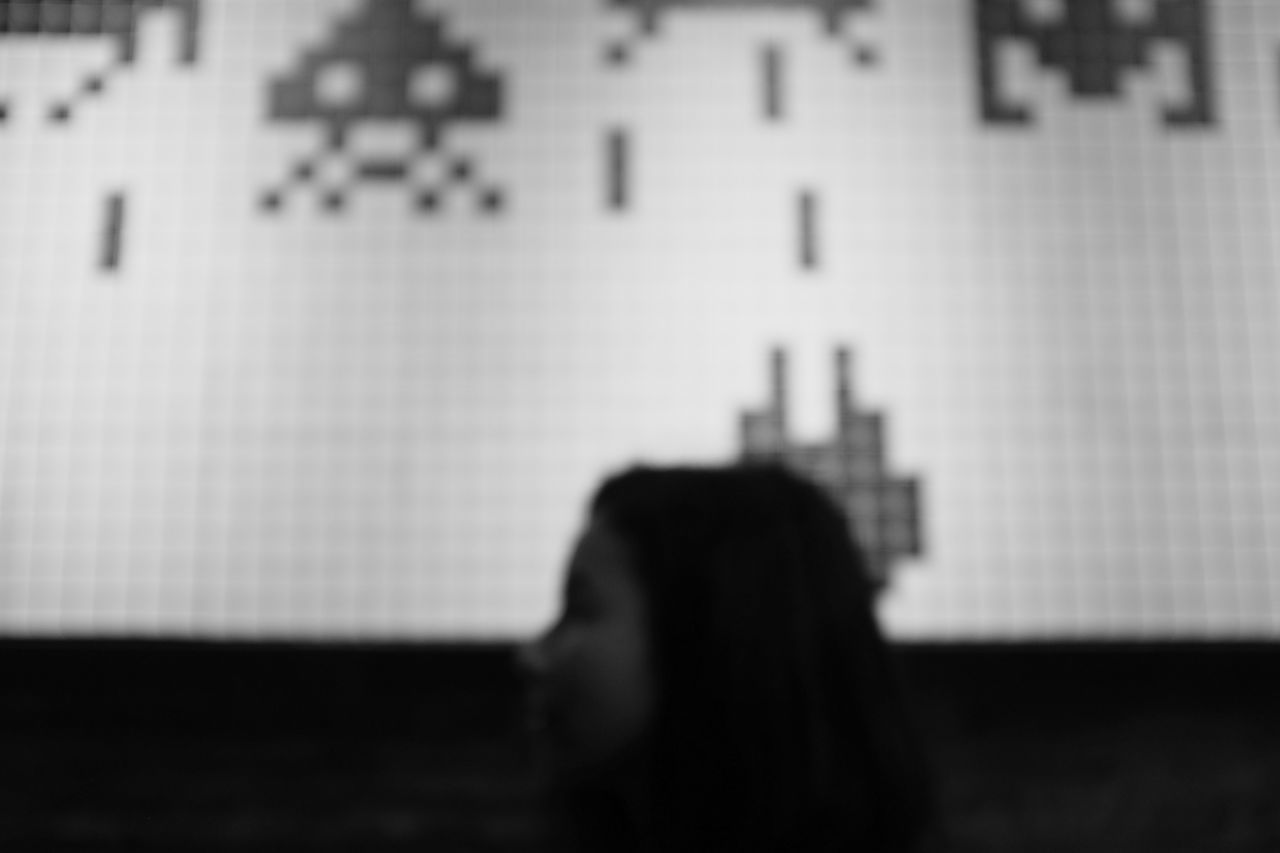 games people play Adult Adults Only Blurry Close-up Day Focus On Foreground INDONESIA Indonesia_allshots Indonesia_photography Indoors  Malang Malang, Indonesia One Person One Woman Only One Young Woman Only People Portrait Of A Woman Silhouette Space Invaders Women BYOPaper!