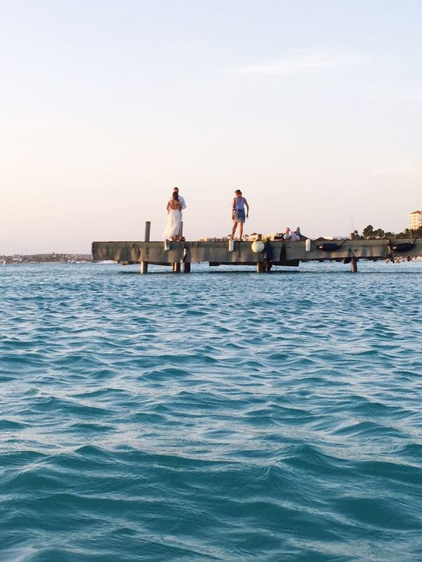 EyeEm Selects Aruba Aruba One Happy Island Palm Beach, Noord, Aruba Wedding pictures for the great view. 👍🏾