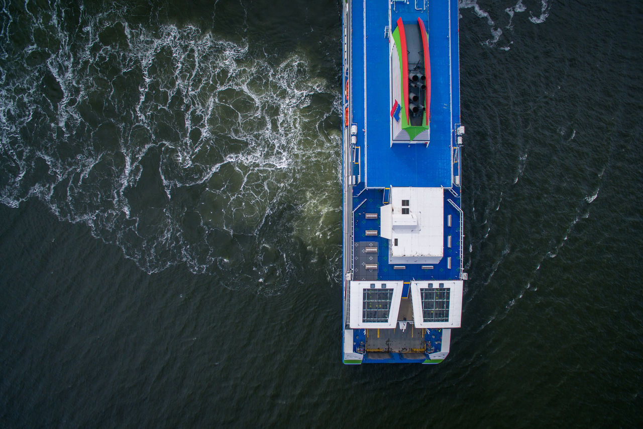 Architecture Day Directly Above Drone  Finland From Above  Helsinki High Angle View Nature Nautical Vessel No People Outdoors Sea Top Perspective Transportation Water