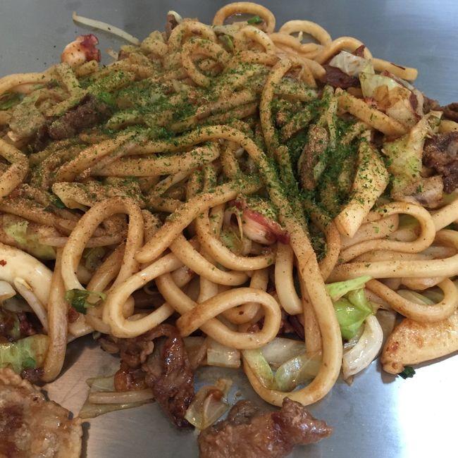 焼うどん Japanese Food Udon Noodles Yakiudon