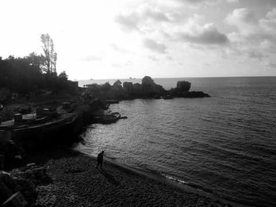 Kapuz Black Sea♥ Black And White