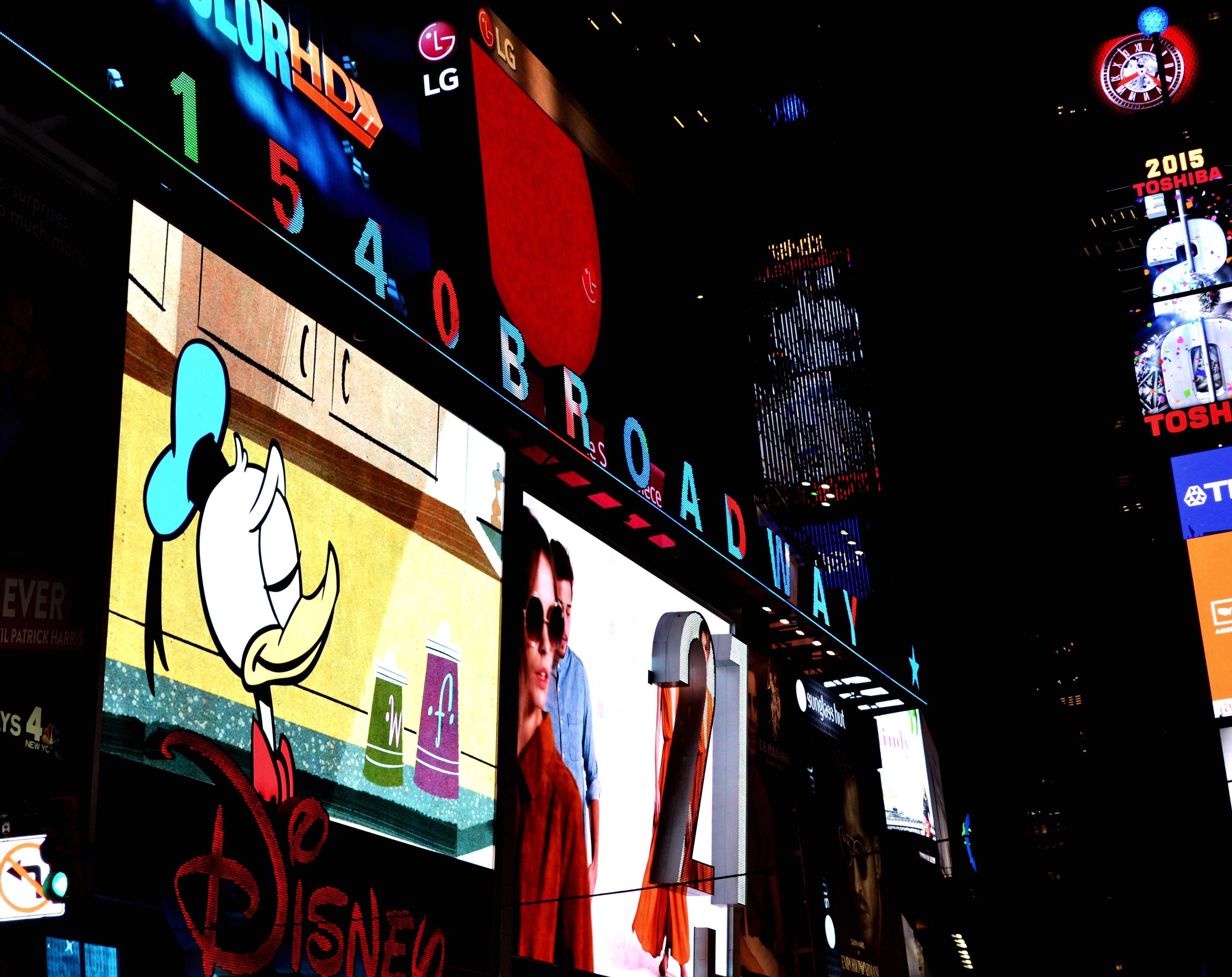 night, multi colored, illuminated, city, outdoors, nightlife, neon, architecture, people