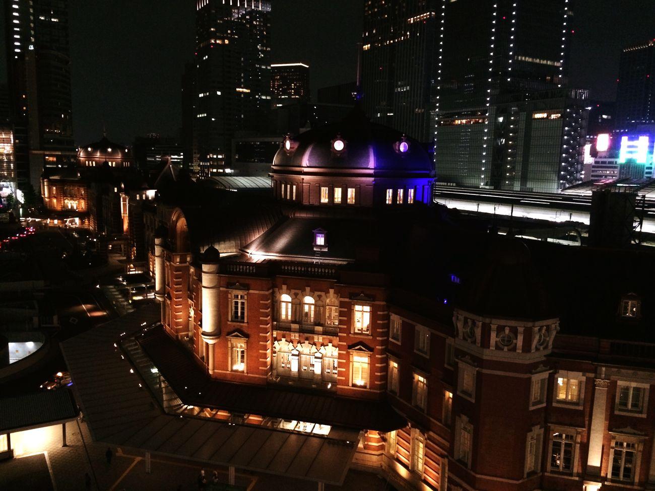Tokyostation Night Night Lights Nightphotography