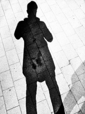 shadow in Hamburg by Adam Amar