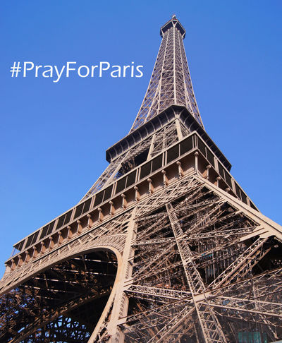 My thoughts and prayers are with people in Paris. Sad Sad Day Cruelty Heartbreak Blue Sky Eiffel Tower Famous Place France Paris Paris, France  Prayforparis PrayForParis🙏 Sad Sadness Sky Terrorism Tour Eiffel