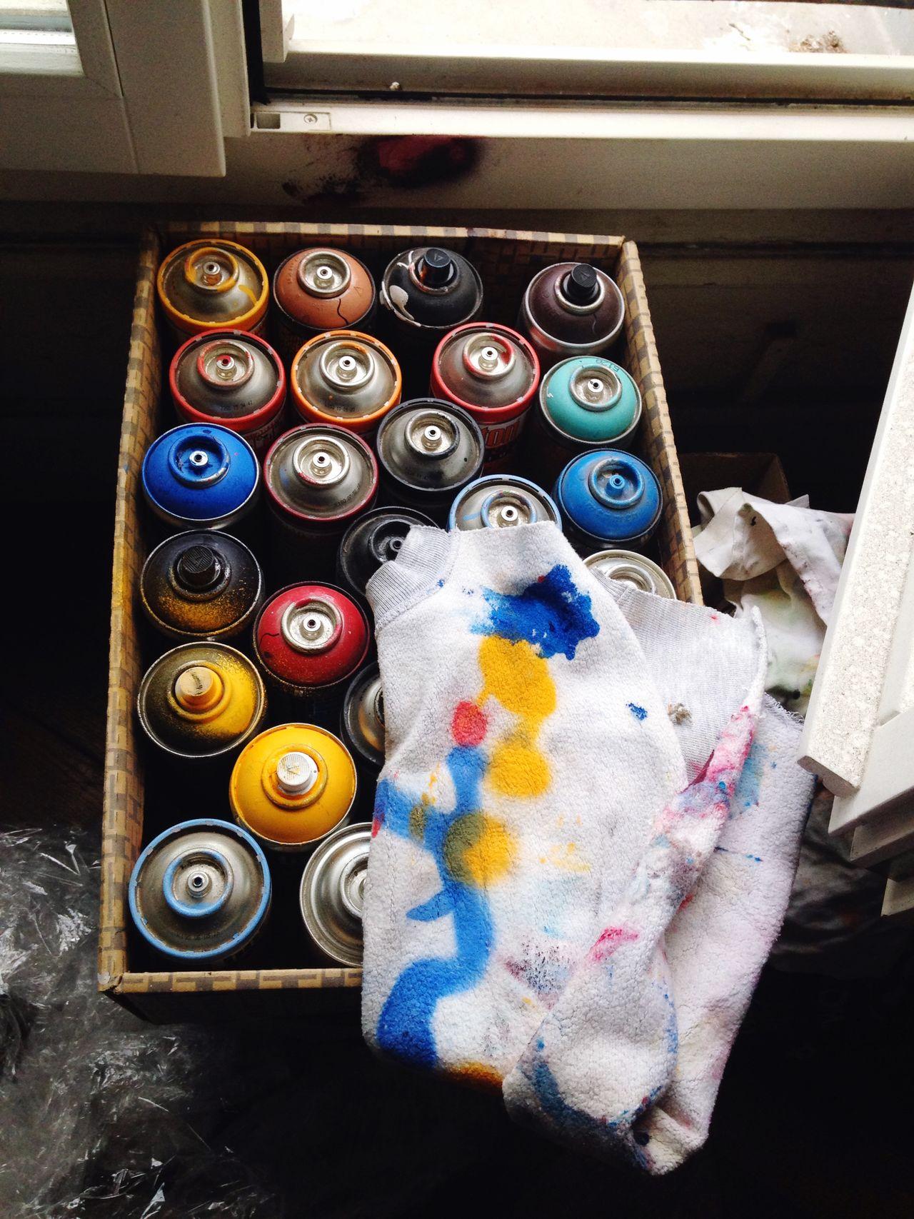 Atellier Jean Moderne Art Streetart Artist Colors