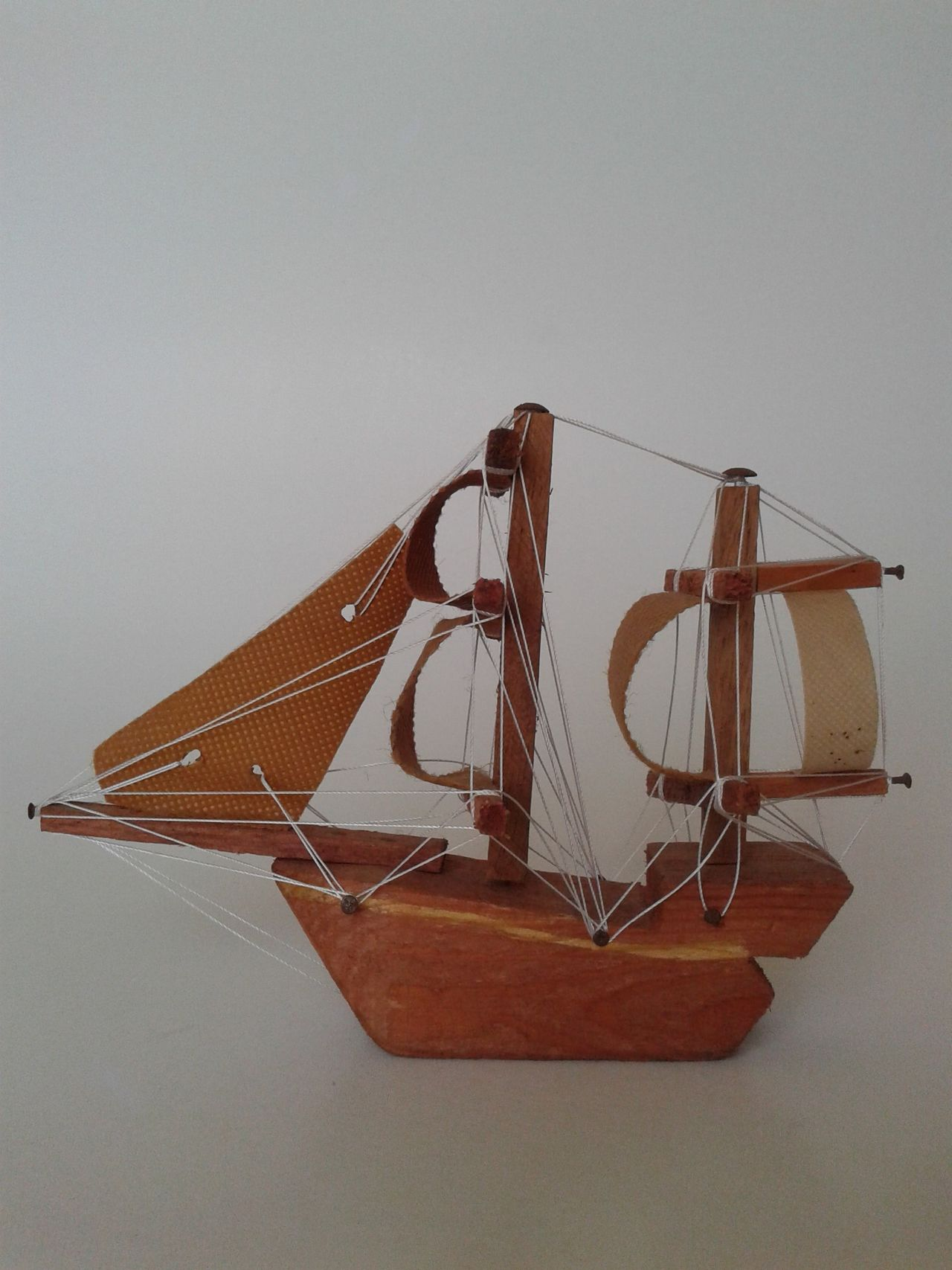 A hand-made wooden boat A Hand-made Wooden Boat Give It To Everyone Made In Morocco