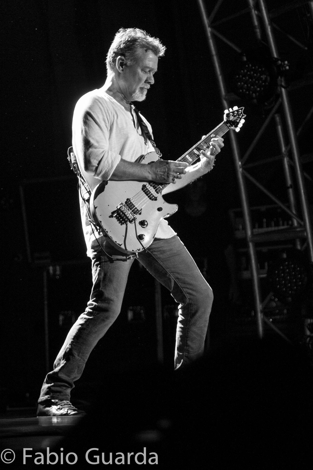 the king of 6 strings and 10 fingers Eddie Van Halen Van Halen Live2015 San Bernardino
