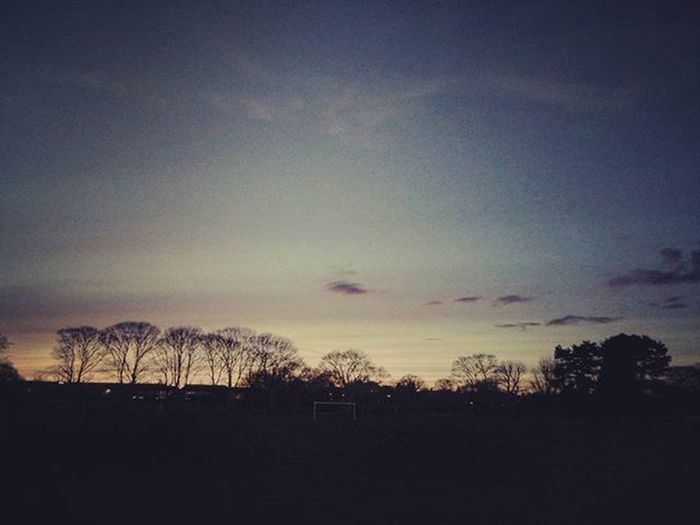 London Playingfields Northlondon Sunset Photography LGG3 Enfieldtown Enfield Sky Clouds Tree