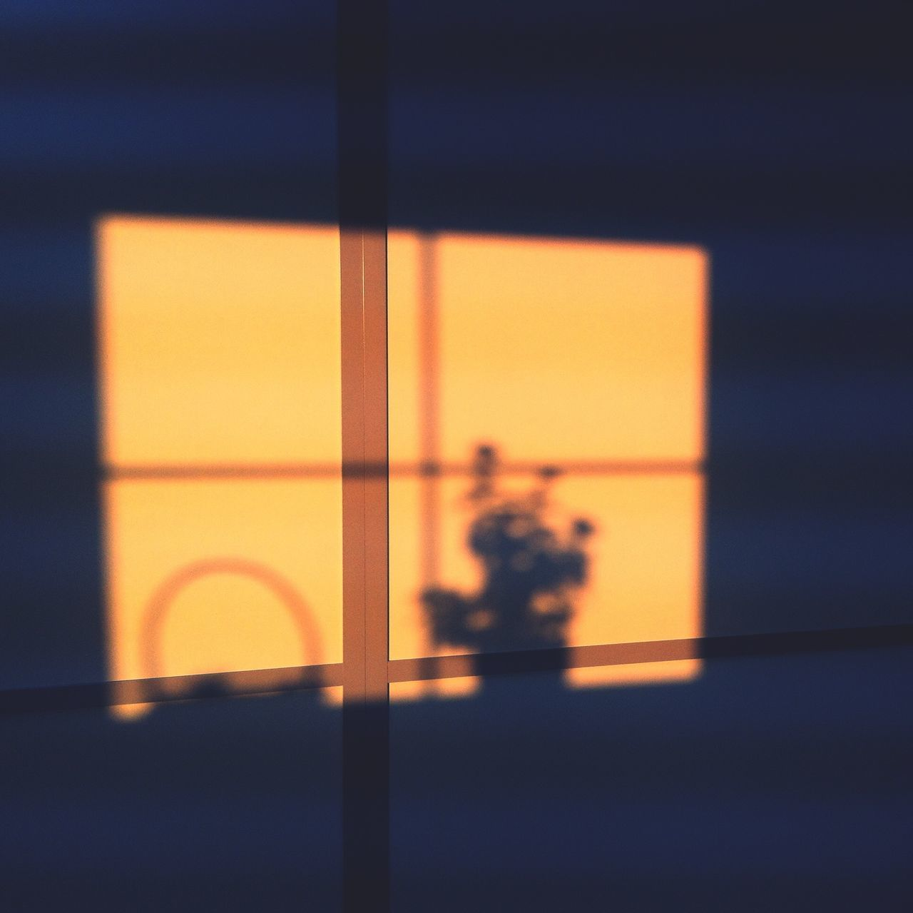 Shadows Sun Rise Window Reflections How's The Weather Today?